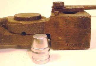 Chapter 9 - Bullet Moulds, Mould design - A Cast Bullet