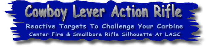 Cowboy Lever Action Rifle at LASC - Reactive targets to challenge your carbine