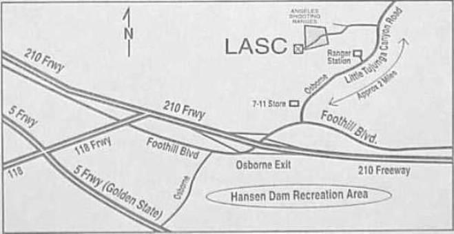 Los angeles handgun metallic silhouette club where are we for 12651 little tujunga canyon lake view terrace ca 91342